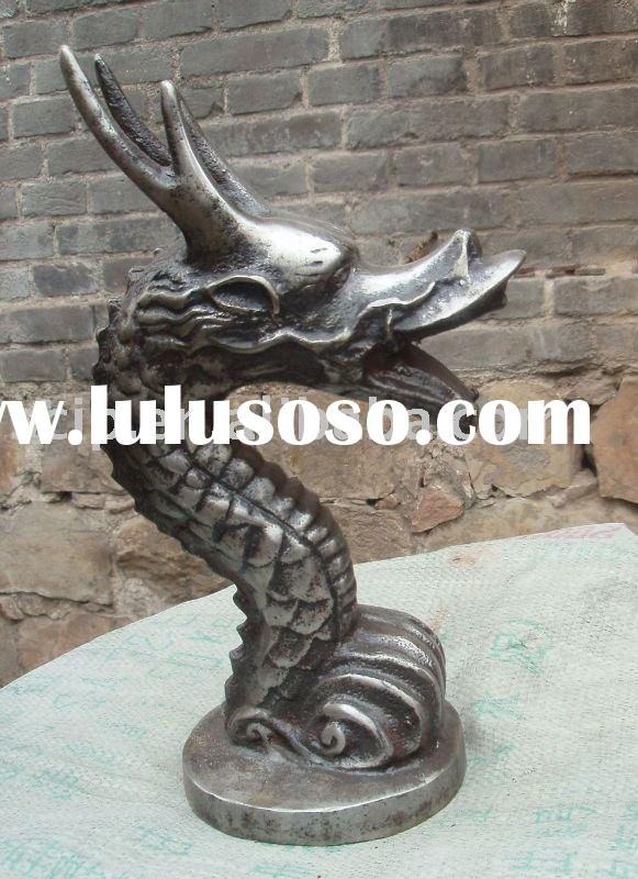 cast iron dragon (garden decoration, garden ware)