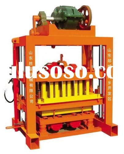 cement brick block making machine price QT4-40