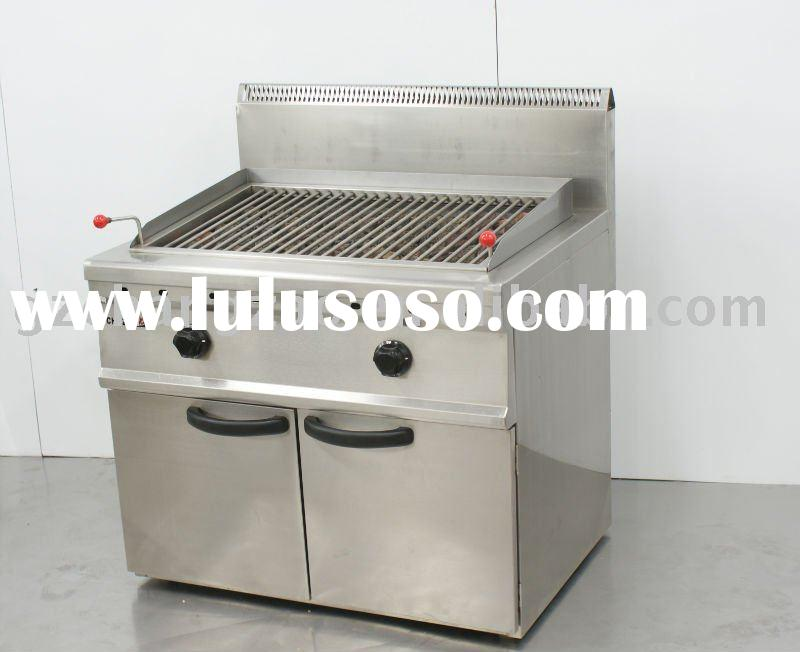 charcoal grill ,gas grill lava rock