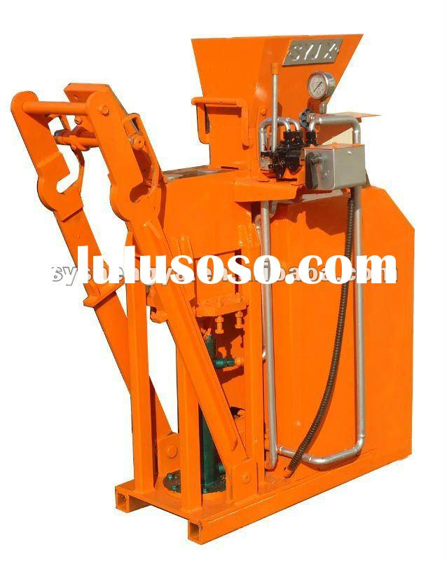 clay+soil+earth+cement paving brick molding machine SY1-25