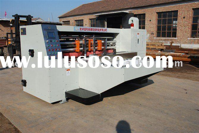 corrugated paperboard fully automatic high speed rotary die cutting machine
