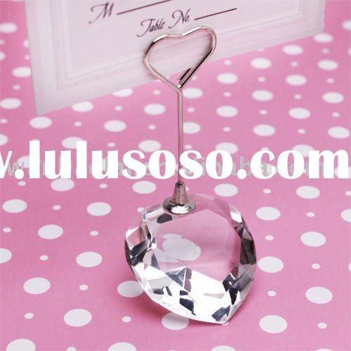 crystal name card holder (office stationery) for wedding gift