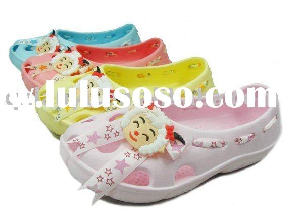 cute kid's eva garden shoes