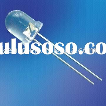 electronic components blue led diodes 3mm