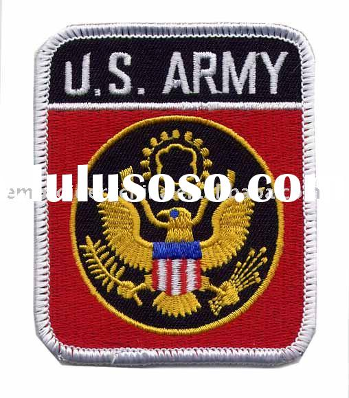 embroidery U.S.Army badges for army uniform