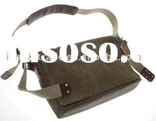 fashion canvas messenger bag