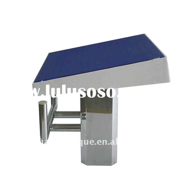 fiberglass with stainless steel 304 base swimming pool starting block