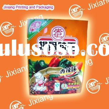 flexible printing and lamination packaging dried food packaging bag