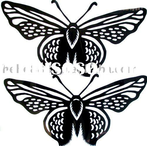 folk butterfly paper-cut art 1, Material:paper 2,Product Size: various size ...