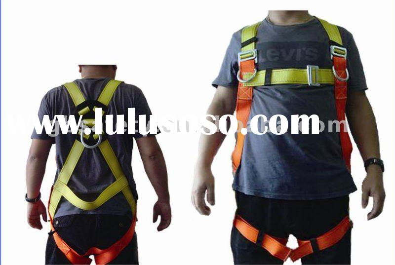 full body harness with lanyard,Shock absorbers