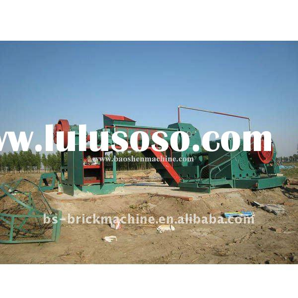 fully automatic clay bricks making machine