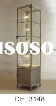 glass display cabinet for jewellery