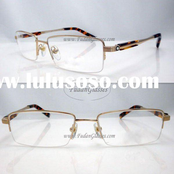 half-rim optical frame reading glasses spectacles frames 2011 eyeglasses frame MB340 eyeglasses Gold