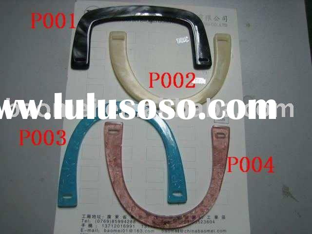 half round plastic bag handle with different colors