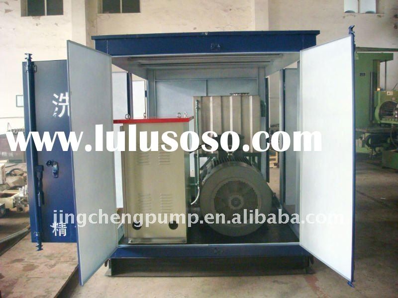 high pressure cleaning machine water jet