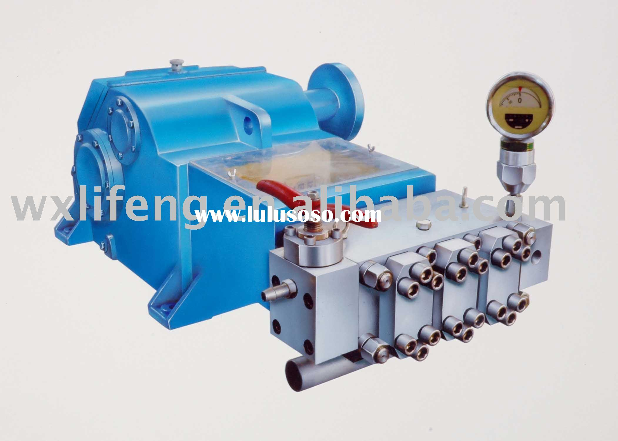 high pressure water plunger pump