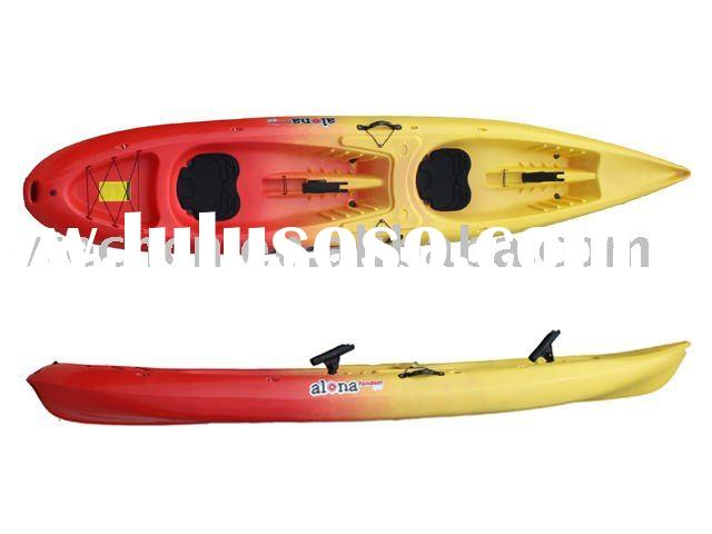 high quality double sit on top sea fishing kayak