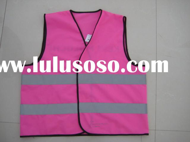 hot-sell 5cm reflective tape pink reflective safety vest