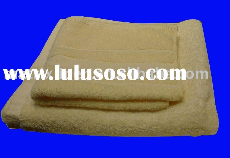 hotel Towel Set plain face/hand/bath towel