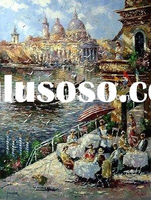 impressional venice painting,venice oil painting,venice paintings