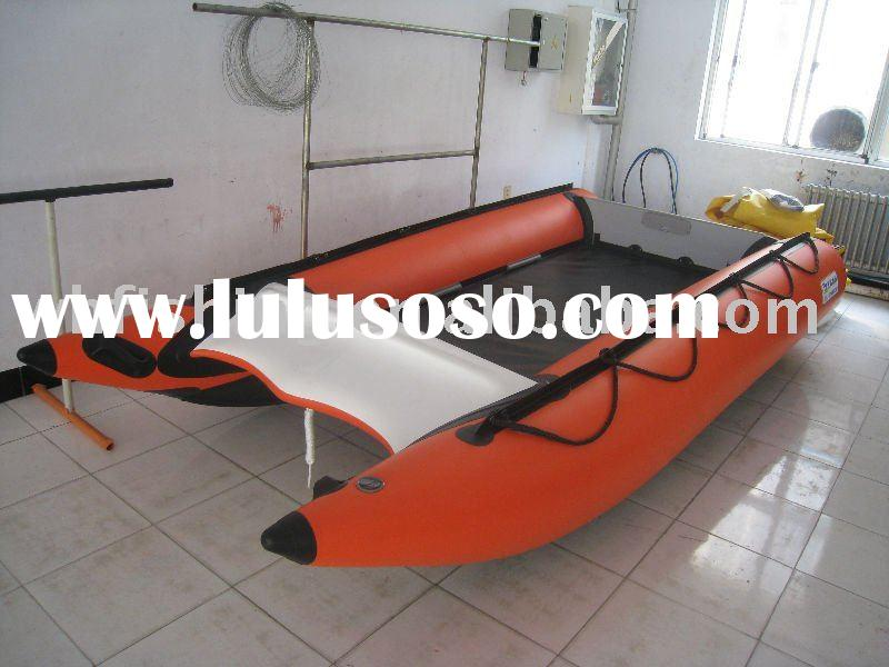 inflatable boats,sport boats,catamaran with fiberglass hull