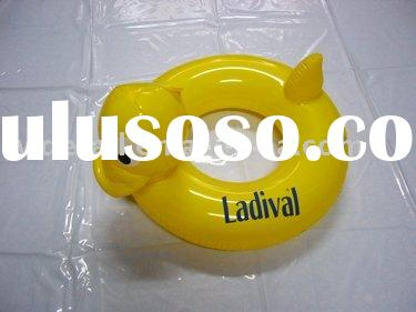 inflatable swim ring\ duck swimming ring\ swimming item
