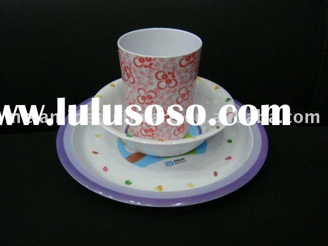 kids melamine tableware