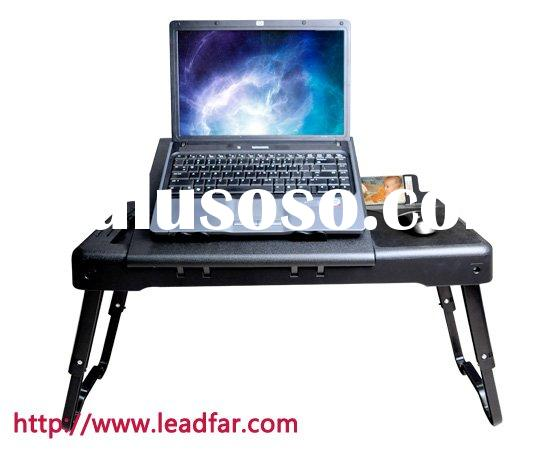 laptop computer lap desk with light