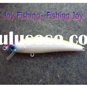 large size giant hard plastic minnow fishing lure