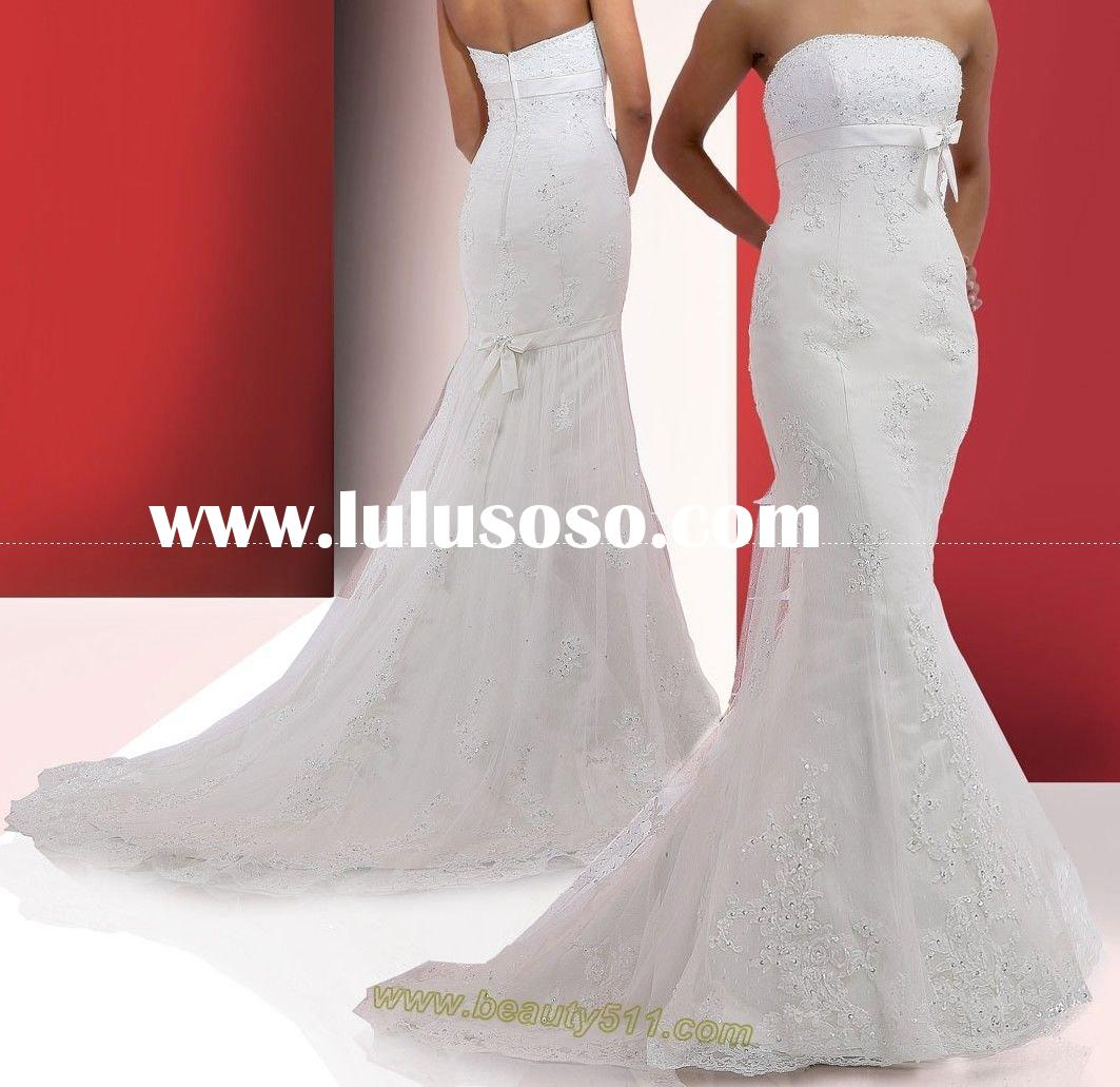 latest new gorgeous wedding dress,wedding gown, bridal gown DAV058
