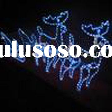 led christmas light /Rope Light deer/led motif light(Reindeers and Sleigh)