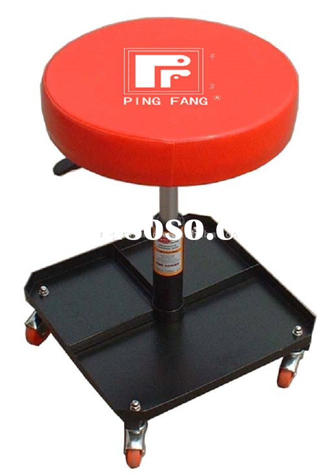 lifting car seat with square tray,stool,creeper,roller seat,pneumatic sit on creeper,auto repairing