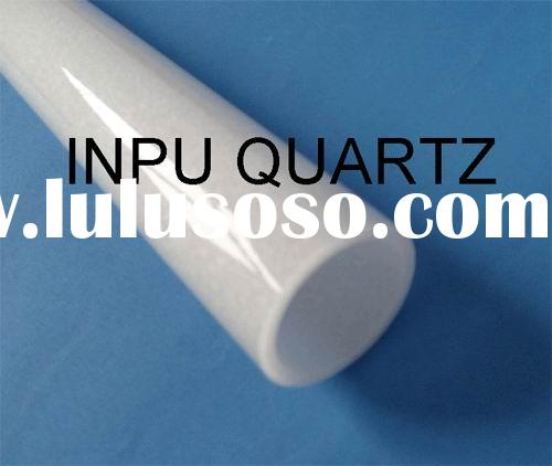 milky quartz glass tube for heater and lamp