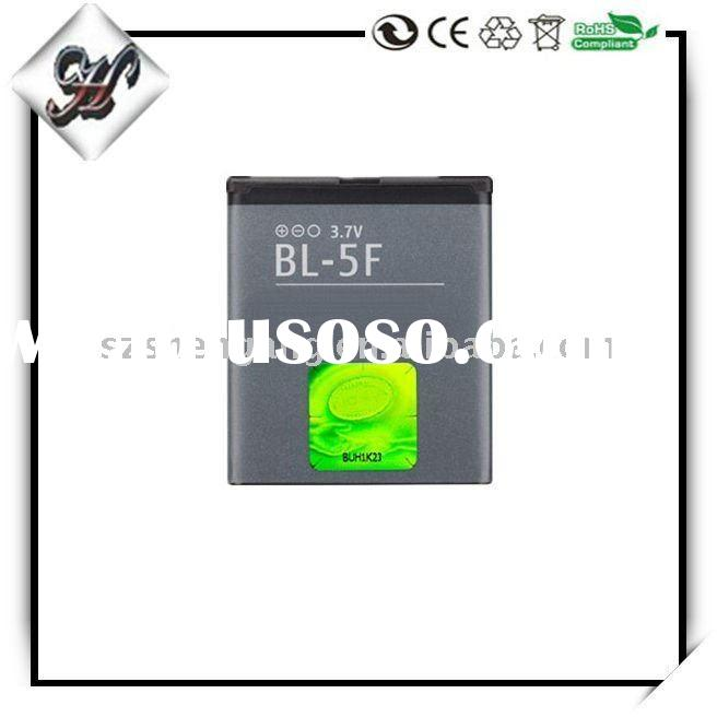 mobile phone battery BL-5F for Nokia 6210N 6210S 6290 E65 N93i N95 N96