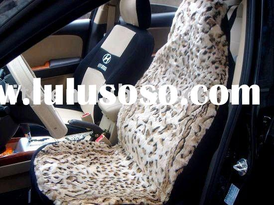 mordern suede leopard car seat covers design auto seat covers