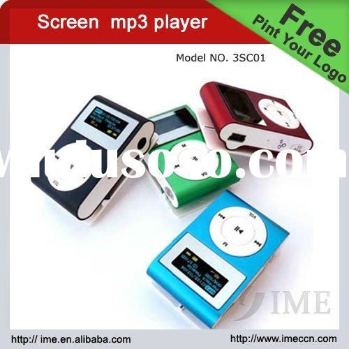 mp3 music player,digital mp3 player,clip mp3 with screen