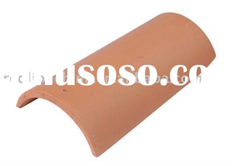 nature red colour italy style clay roof tile