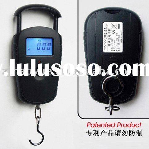 new design of 20KG digital hanging fishing scale