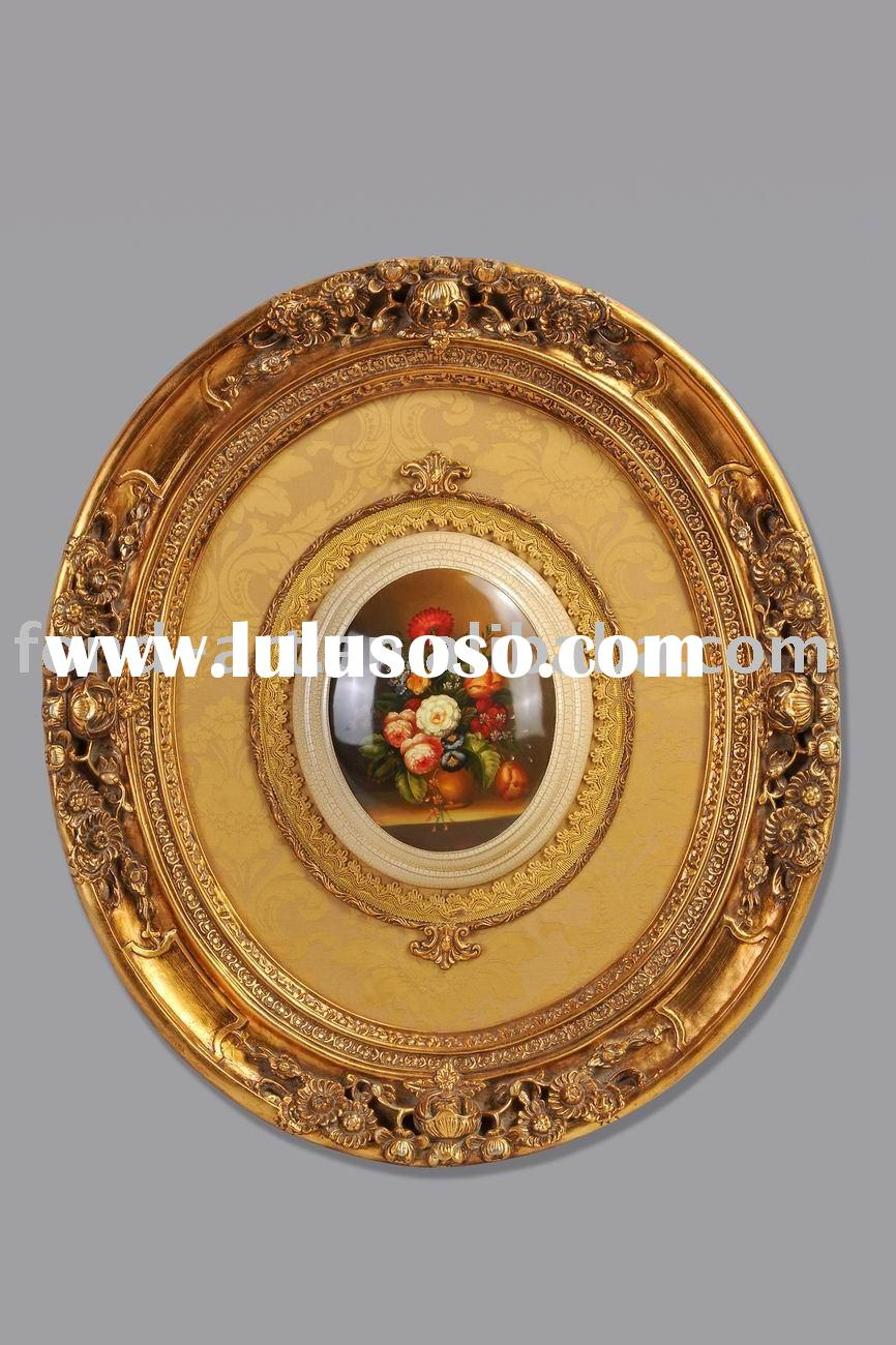 oil painting with PU frame