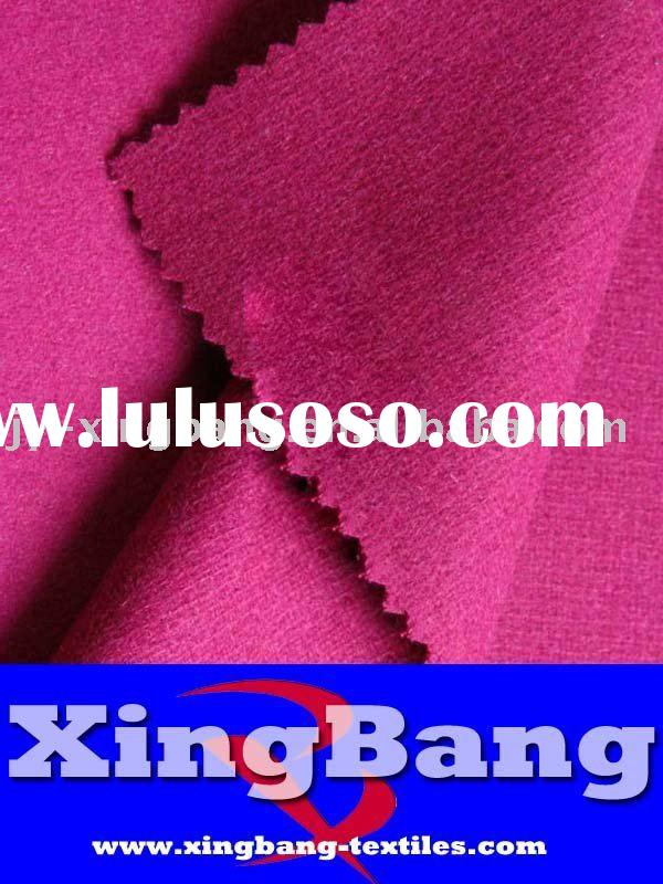 pink wool flannel shirt fabric
