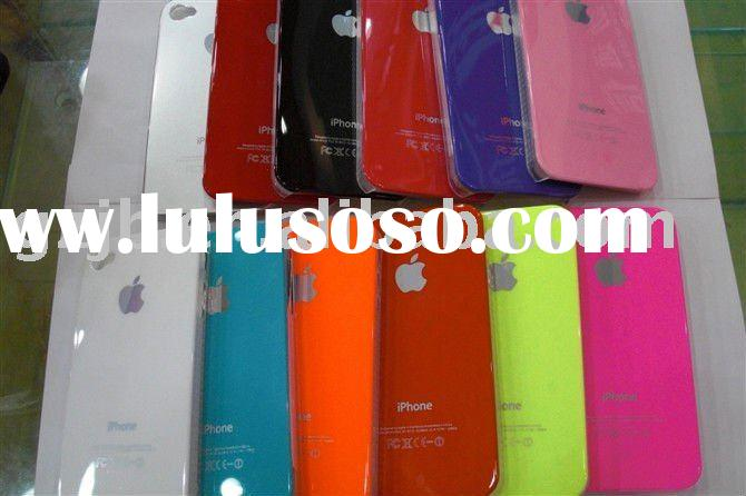 plastic &PC +IMD thin weightlight case with logo for iphone 4/4g