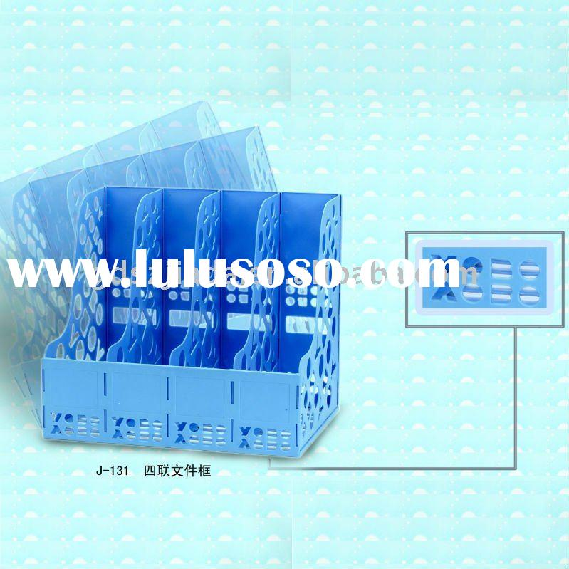 plastic file tray, file rack, file holder, file stand, document tray