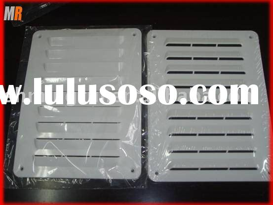 plastic ventilation grill mould, air conditioner parts, grill