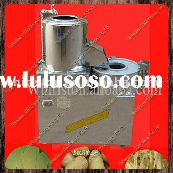 potato chips making machinery/potato chips peeler/potato chiping cutting machine