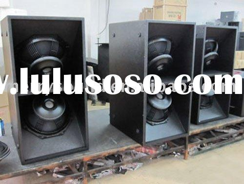 powerful subwoofer cabinet, sound equipment, sound system, pro audiol line array subs (SUB-218)