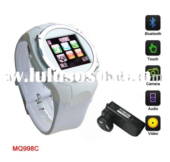 promotional sale for MQ007 Quad band watch mobile phone