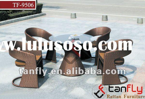 rattan chair round table TF-9506
