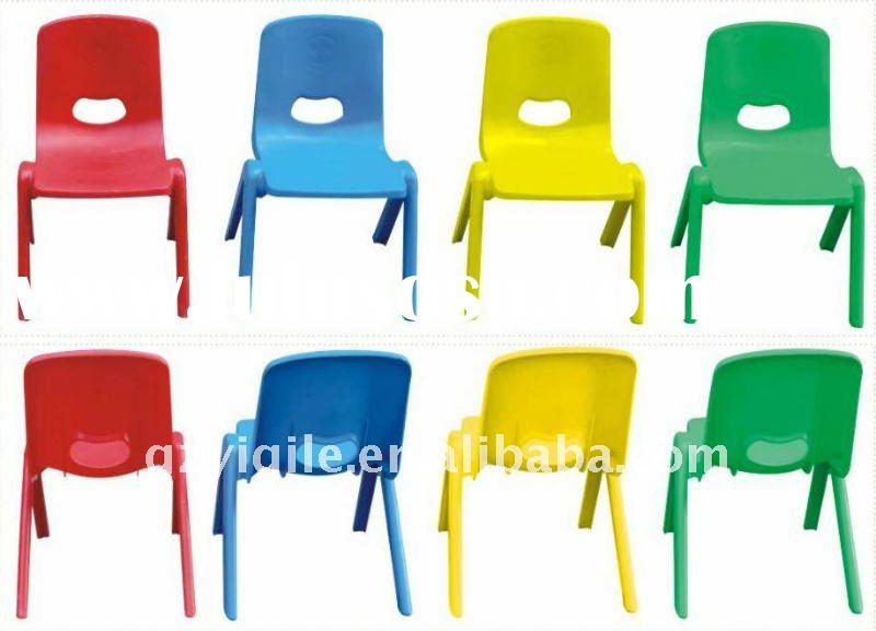 red yellow green blue plastic school chair YQL-82653