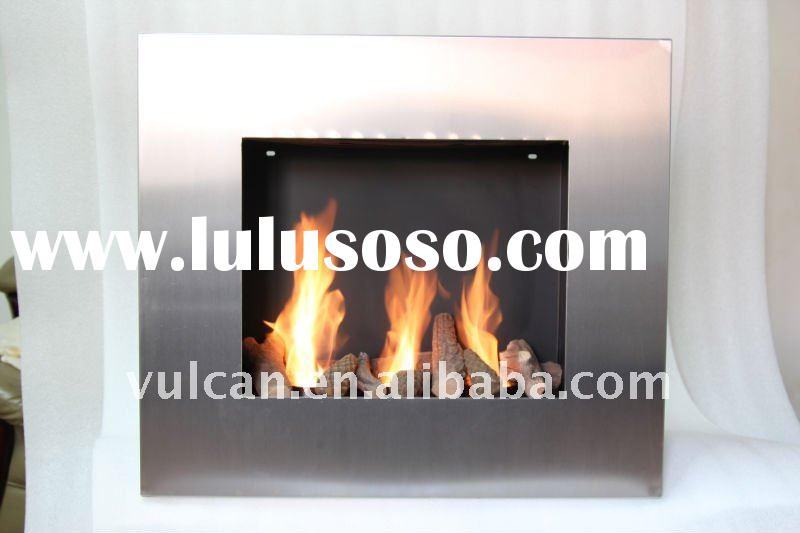 remote control wall mounted ethanol fireplace