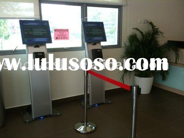 scan barcode kiosk,touch screen kiosk with printer,kiosk with card reader
